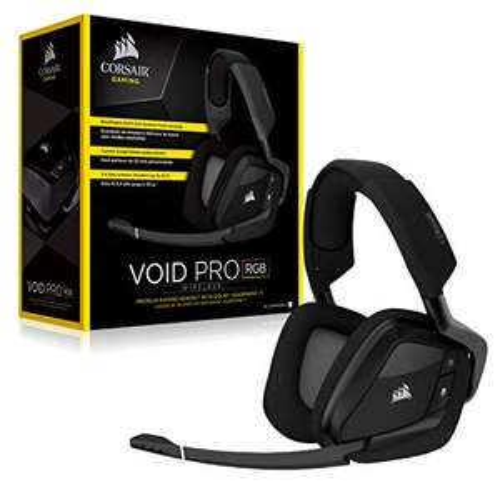 Amazon: Corsair VOID Wireless RGB Gaming Headset, RGB inalámbrico, Carbon