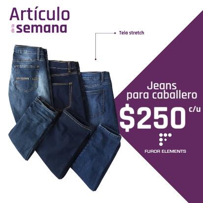 Suburbia: Artículo de la Semana del Lunes 15 al Domingo 22 Julio: Jeans para Caballero Furor Elements $250 c/u