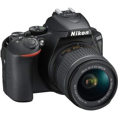 Amazon: Nikon D5600 Cámara con Lentes AF-P DX 18-55mm y AF-P DX 70-300mm y Tripie
