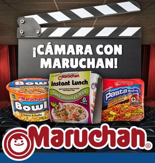 2x1 para el cine comprando productos Maruchan