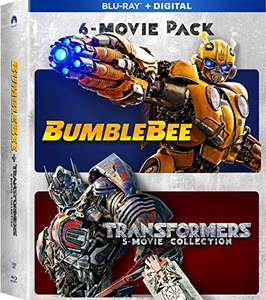 Amazon: Bumblebee And Transformers Ultimate 6-Movie Collection [Blu-ray]