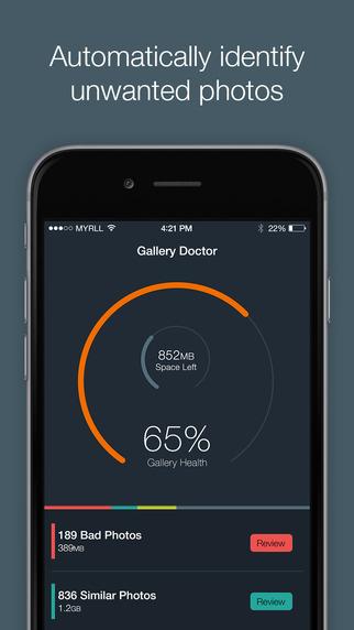 App GALLERY DOCTOR para iOS, GRATIS por 72 horas en iTunes.