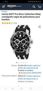 Amazon: Invicta Pro Diver 6977