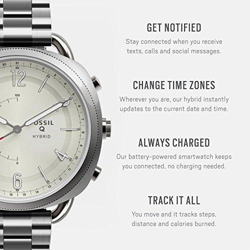Amazon: Smartwatch Híbrido Fossil Q Accomplice FTW1202 Plata