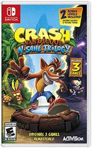 Amazon: Crash Bandicoot N. Sane Trilogy - Nintendo Switch Standard Edition