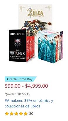 Amazon: AmoLeer. 35% en cómics y colecciones de libros