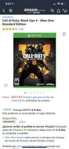Amazon: Call of duty Black Ops 4 Xbox One