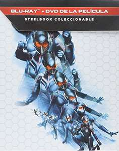 Amazon: Ant-Man and the Wasp [Blu-ray steelbook ]