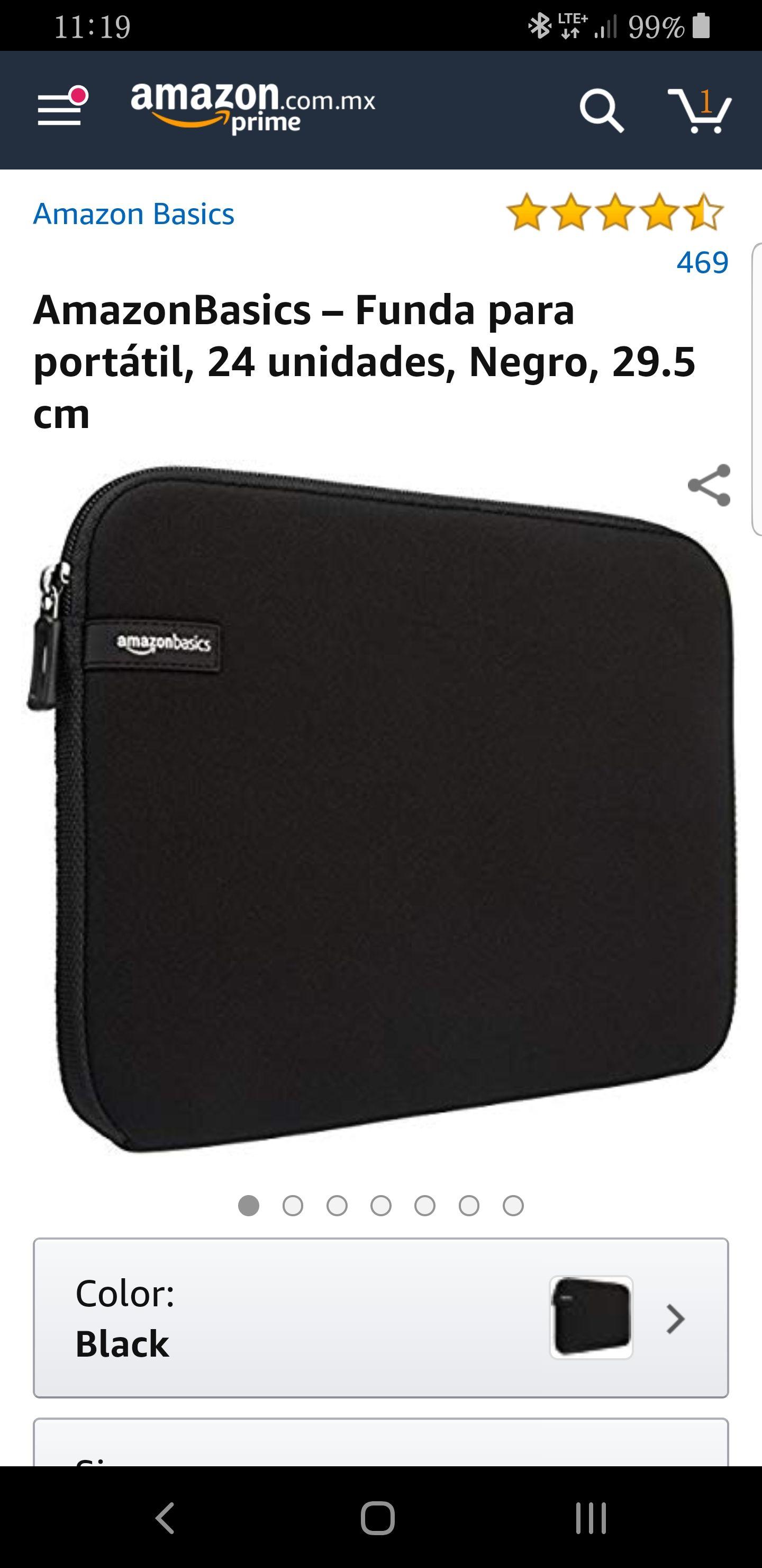 """Amazon: 24 Fundas Laptop 11.6"""" (Switch/Disco Duro/Tablet)"""