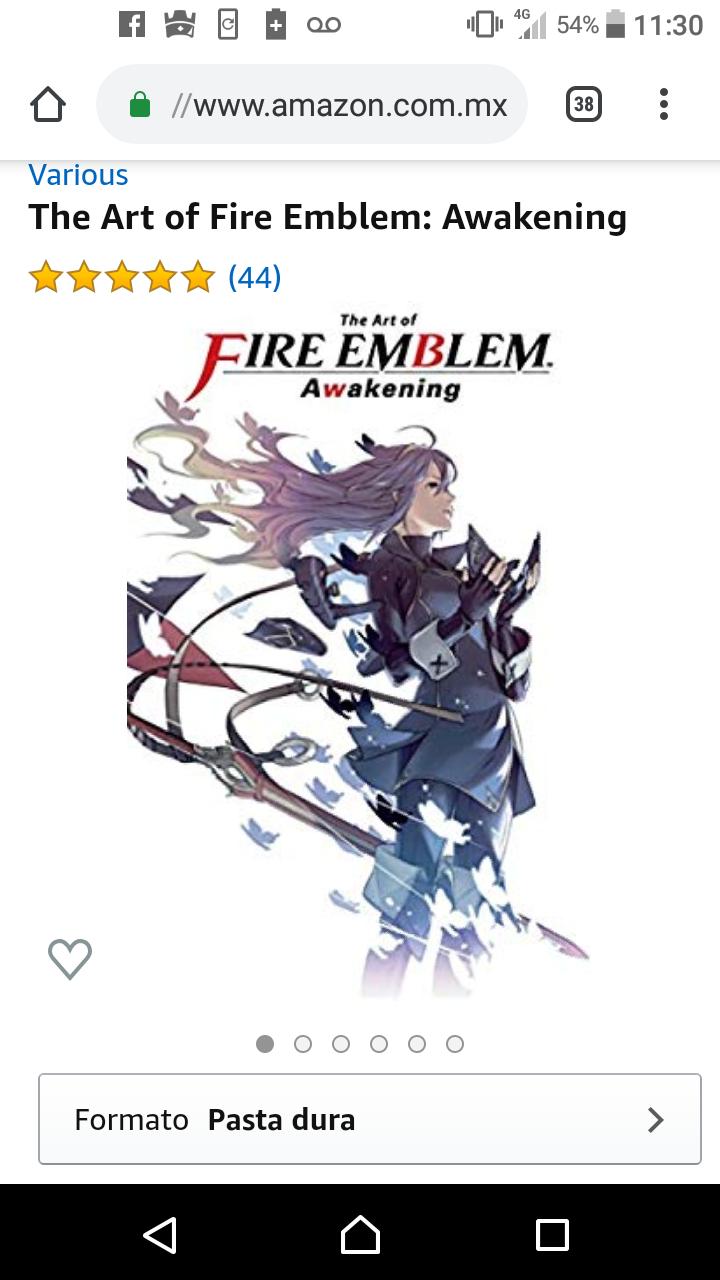 Amazon: The Art Of Fire Emblem Awakening