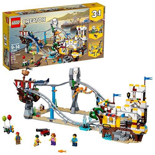 Amazon: LEGO Creator, Montaña Rusa Pirata 31084 a $899 (o menos con Banorte/Citibanamex)