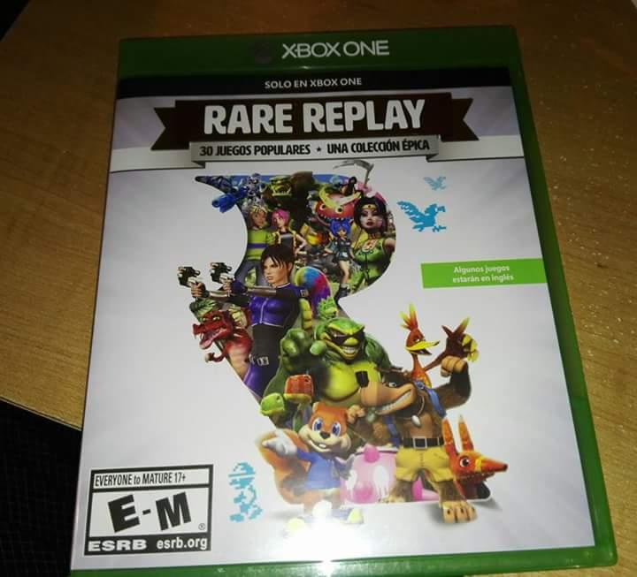 Chedraui Santa Fe DF: juego de Xbox One Rare Play X en $445