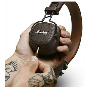 Amazon: Audífonos Marshall Major III Auricular (Alámbrico, 20-20000 Hz, Café)