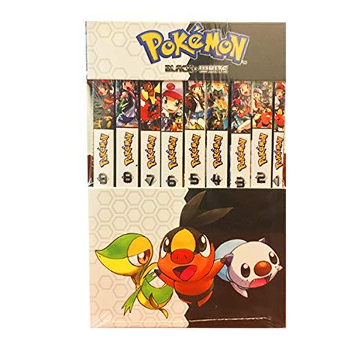 Amazon Prime: Paquete Pokemon Black & White 9 mangas
