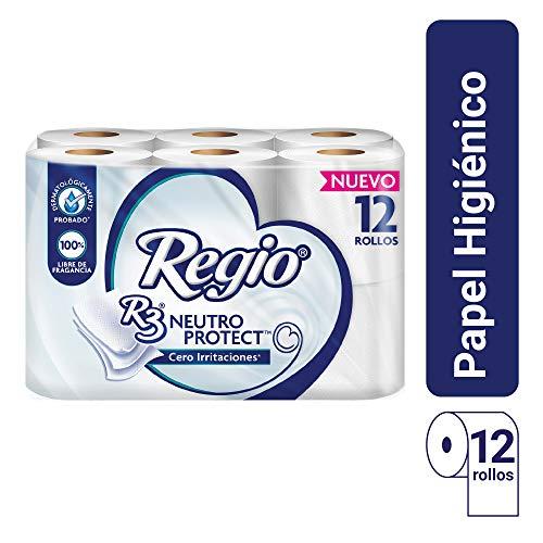 Amazon: Papel Regio R3 de 12 rollos (comprando 4)