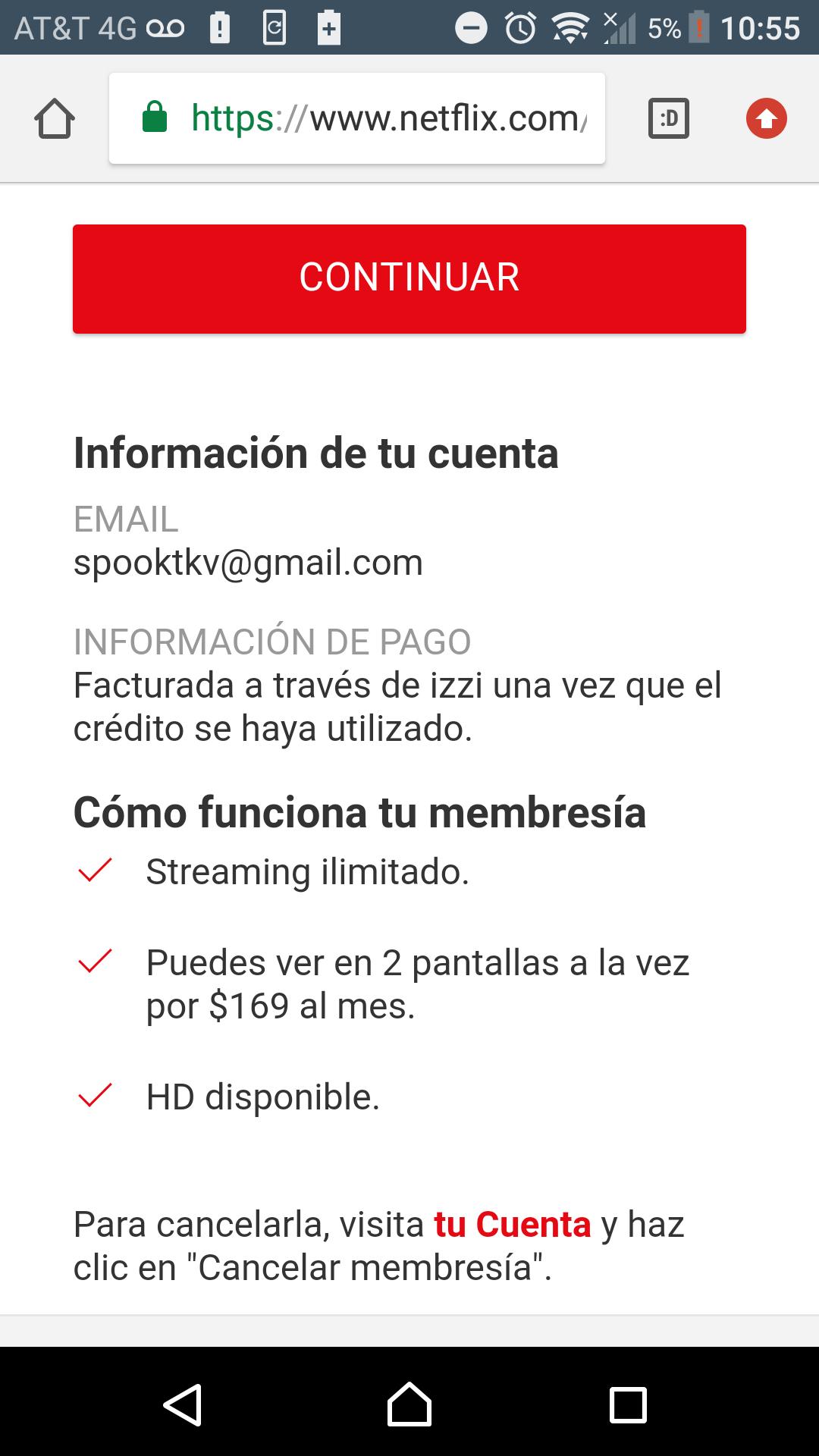 Netflix gratis por 2 meses con izzi