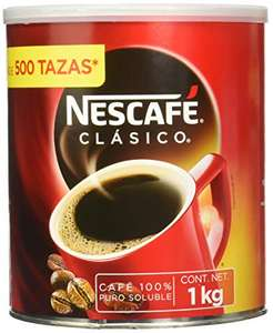 Amazon: Nescafe Clasico 1 KG