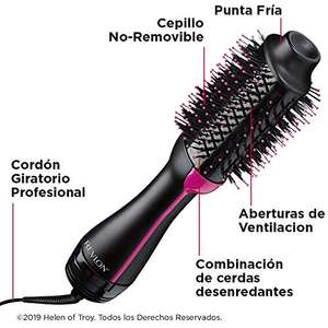 Amazon: REVLON Salon One-Step Secador y Voluminizador