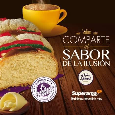 Superama: mini rosca Gratis en la compra de una o más Roscas de Reyes Extra Special