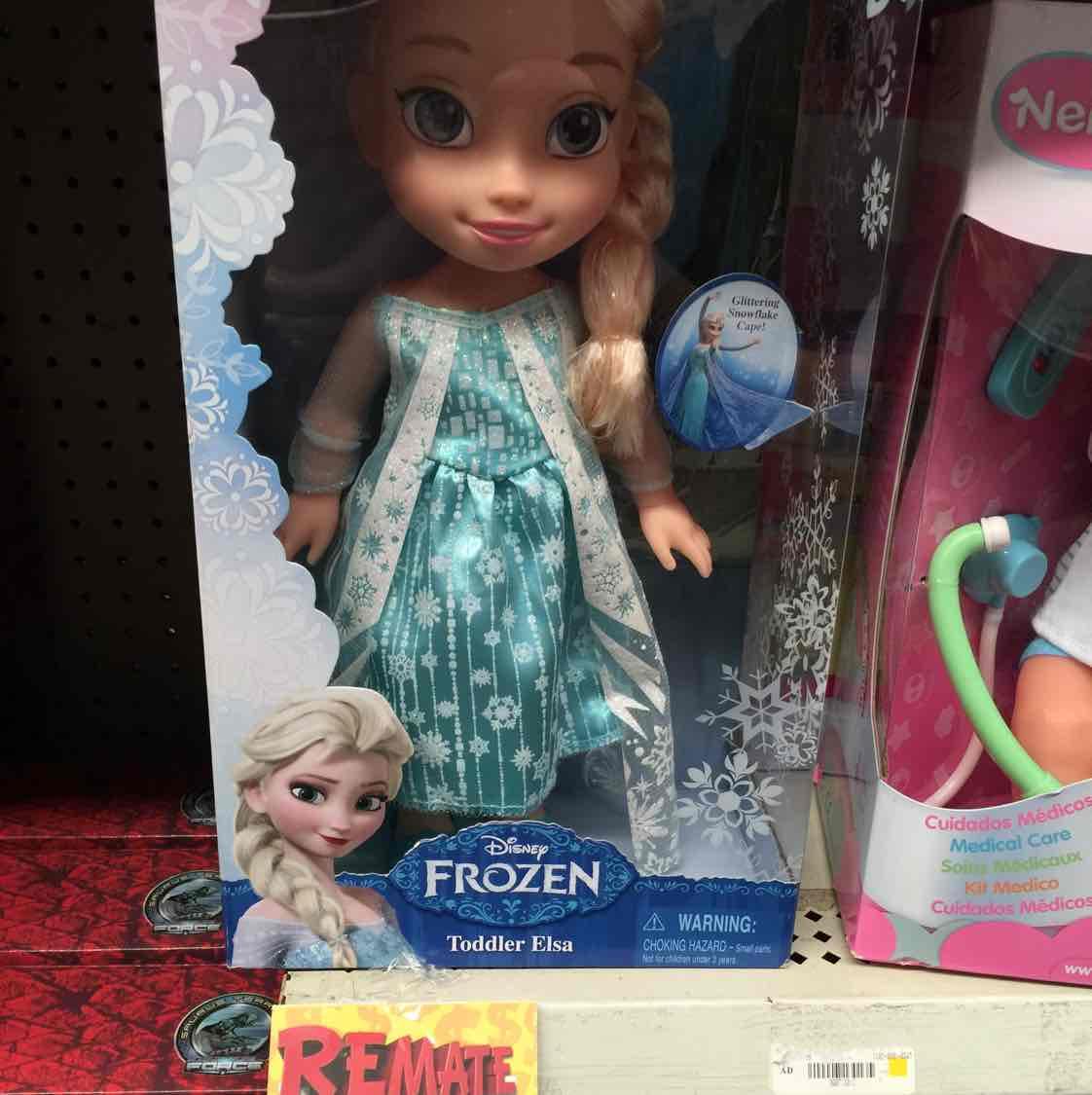 Bodega Aurrerá: muñeca Frozen a $415.03