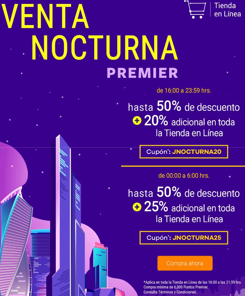 Club Premier: 25% de descuento tienda en línea