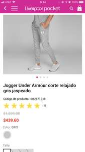 Liverpool: Jogger Under Armour XL