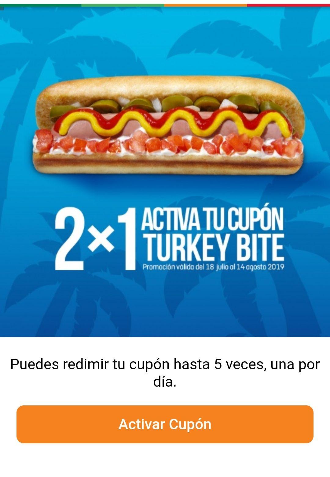 7 Eleven: 2x1 hotdog turkey bite