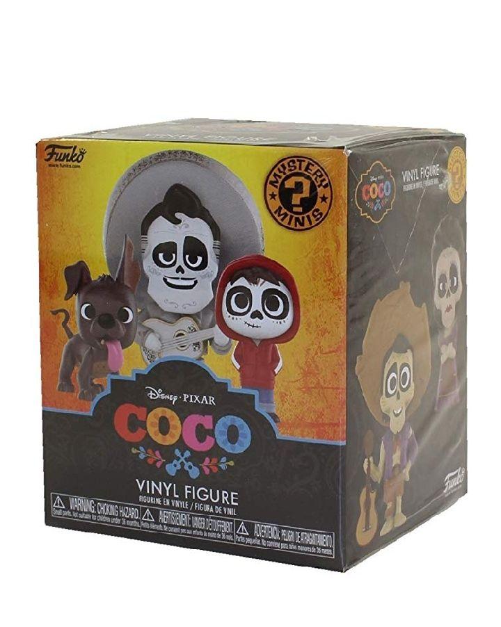 Amazon: Funko Mystery Mini: Disney Pixar, Coco, Una figura de vinilo aleatorio