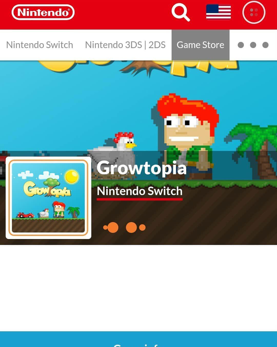 eShop: Growtopia Nintendo Switch GRATIS