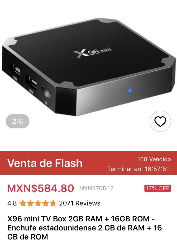Gearbest: X96 mini 2gb ram + 16Gb Rom