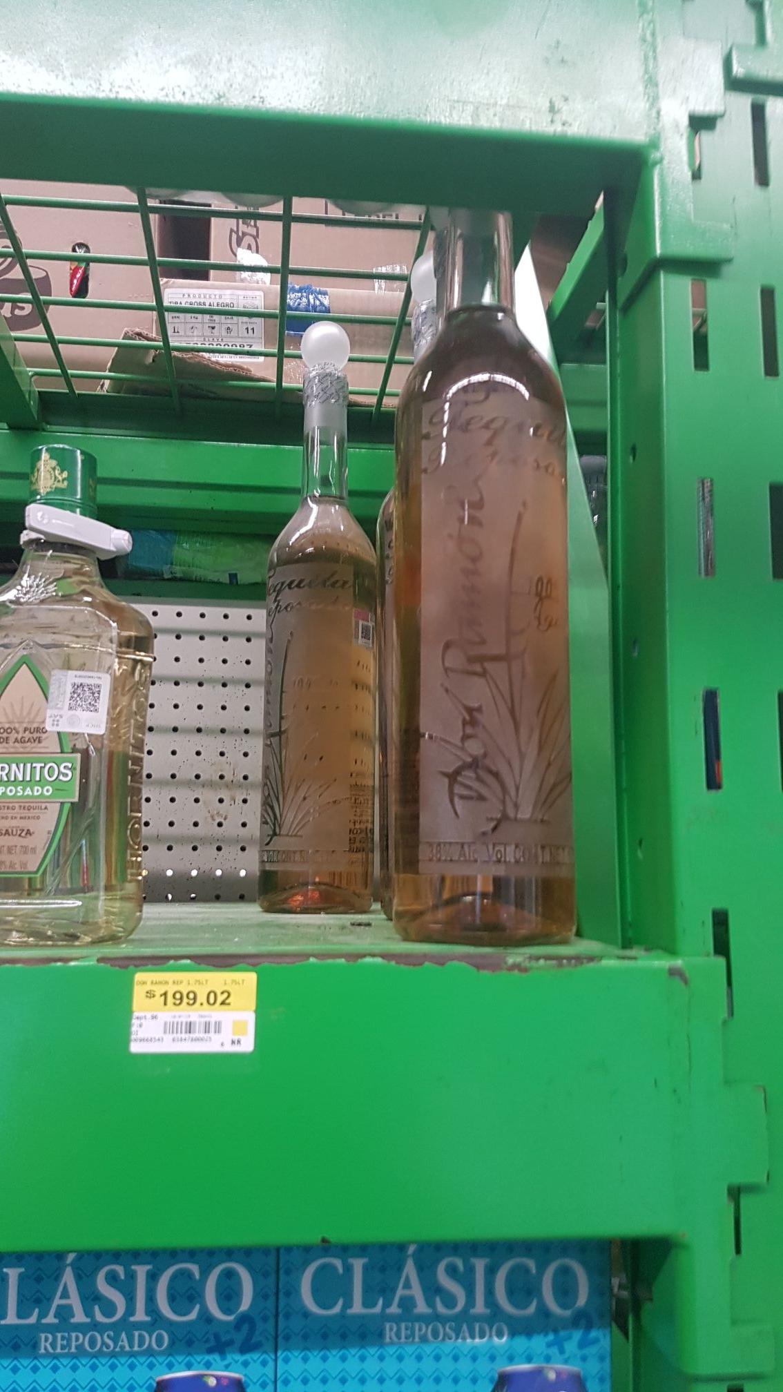 Bodega Aurrerá: Tequila Don Ramon 1.75L