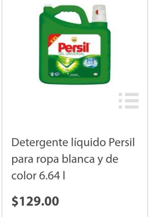 Walmart Súper: Persil 6.64 Lts