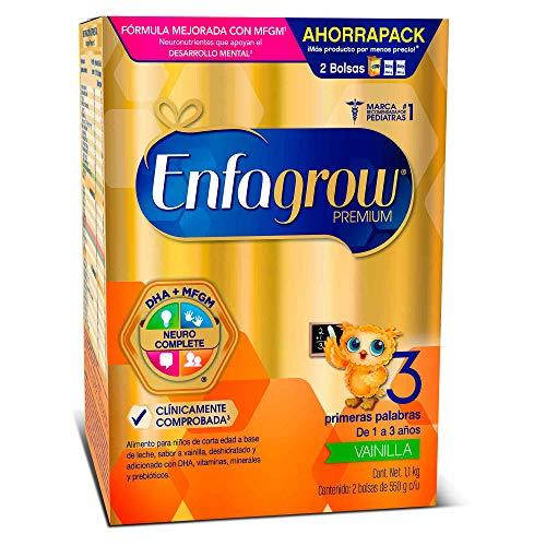 amazon: Enfagrow Premium Etapa 3 En Polvo Sabor Vainilla Caja de 1,1 kg