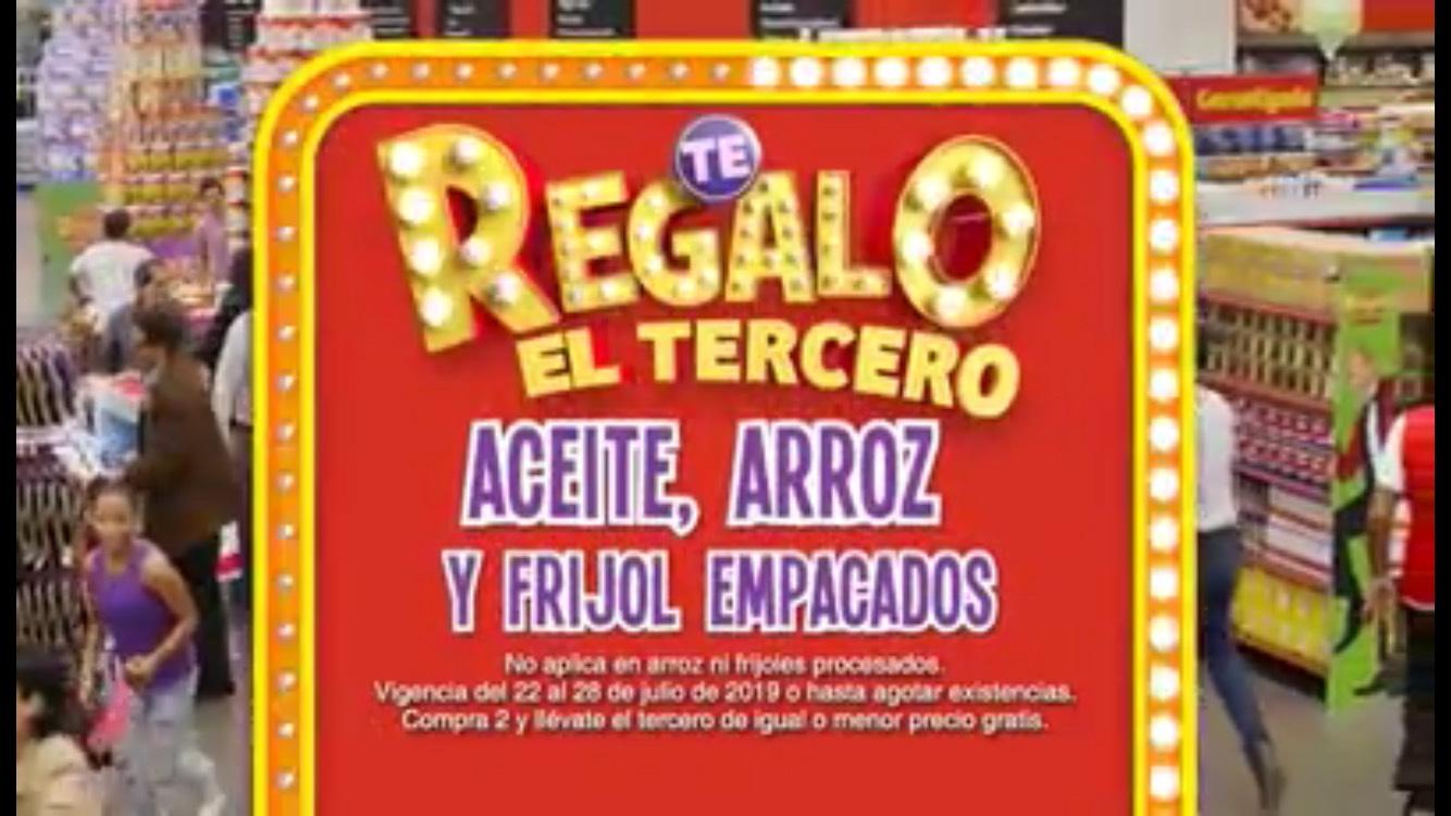 Julio Regalado 2019 en Soriana: 3x2 en Aceite, Arroz y Frijol