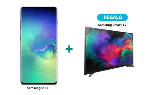 AT&T: Samsung Galaxy S10 o S10+ en plan consíguelo 5 o superior + Smart TV o Galaxy Watch de regalo, plazo de 30 o 36 meses
