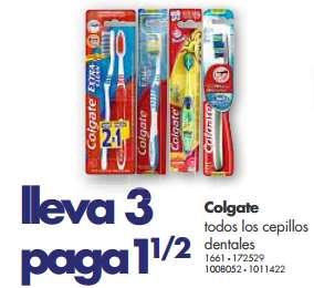 Farmacias Benavides: 3x1 y medio en cepillos Colgate, 3x2 en leche de Almendra y más