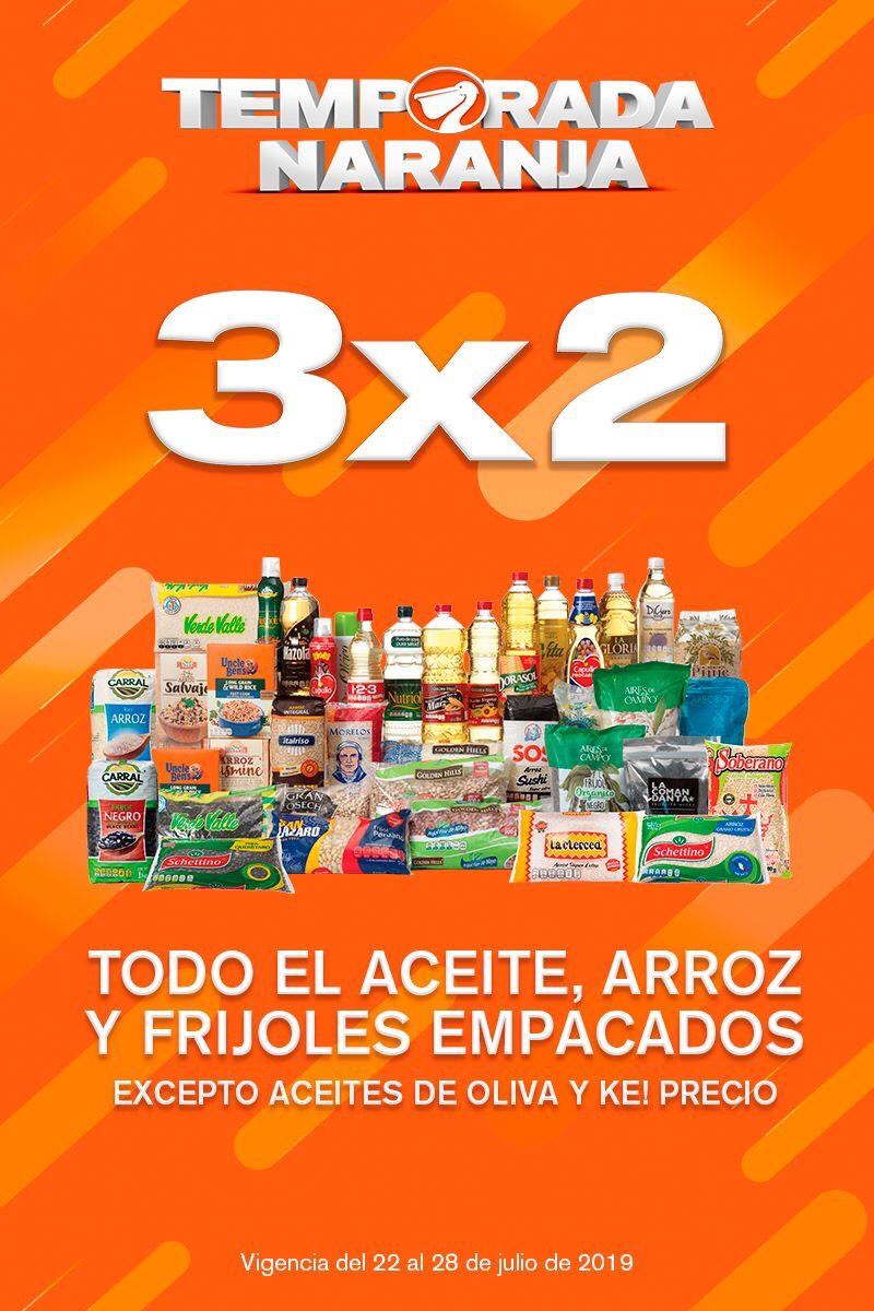 Temporada Naranja 2019 en La Comer y Fresko: Aceite, Arroz y Frijoles