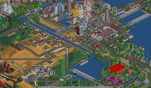 Juego OPEN TRANSPORT TYCOON DELUXE como descarga GRATUITA para Windows.