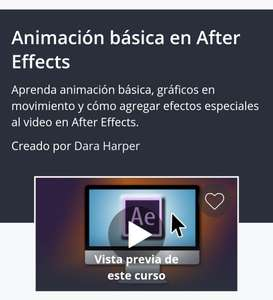 Udemy: Animación básica en After Effects
