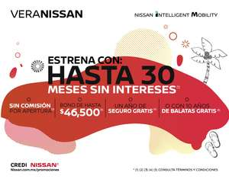 NISSAN: Hasta 30 MSI