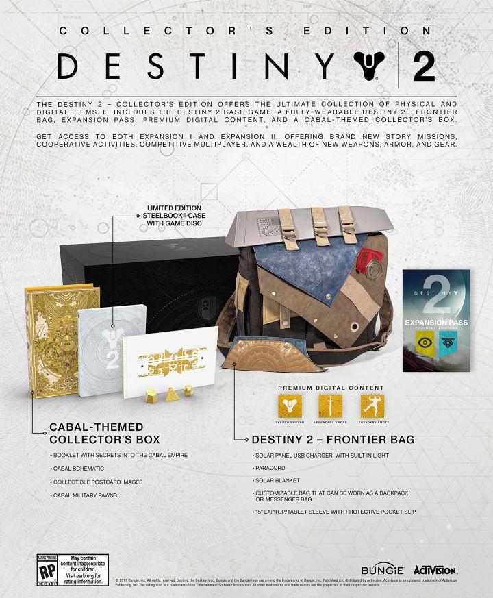 Game Planet: DESTINY 2 COLLECTORS EDITION