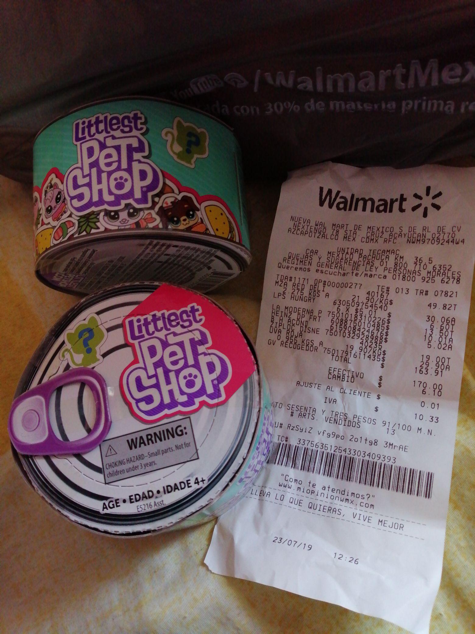 Walmart Tecamac: Little Pet shop