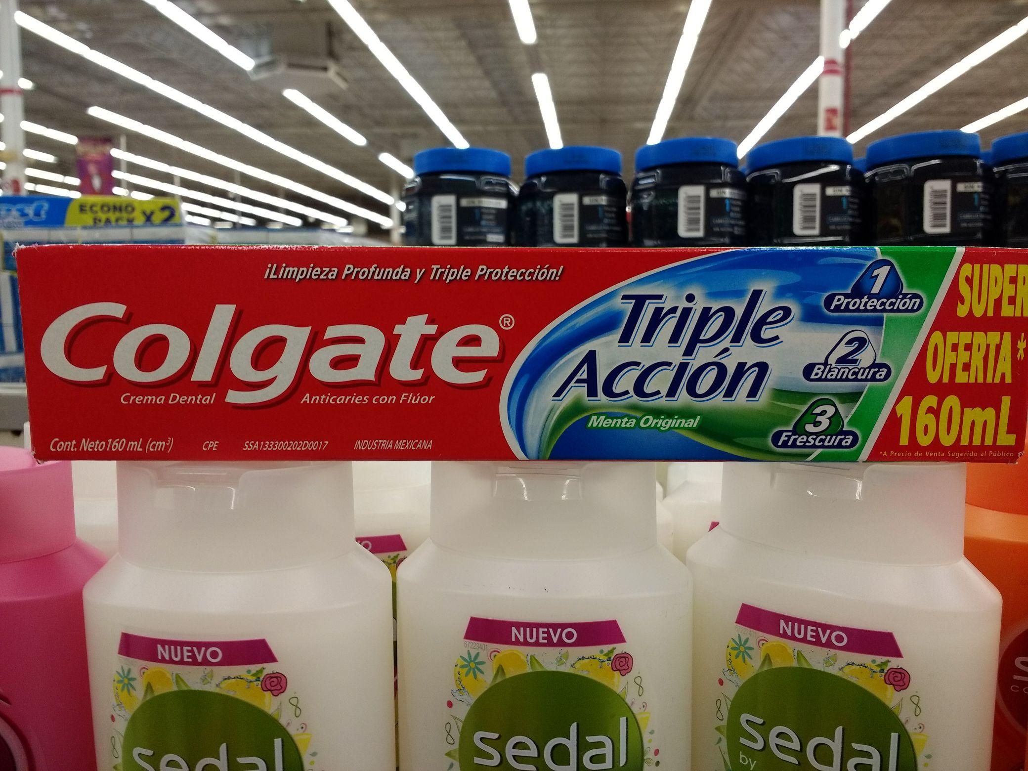 Soriana: Pasta Dental Colgate Triple Acción 160mL 3x2