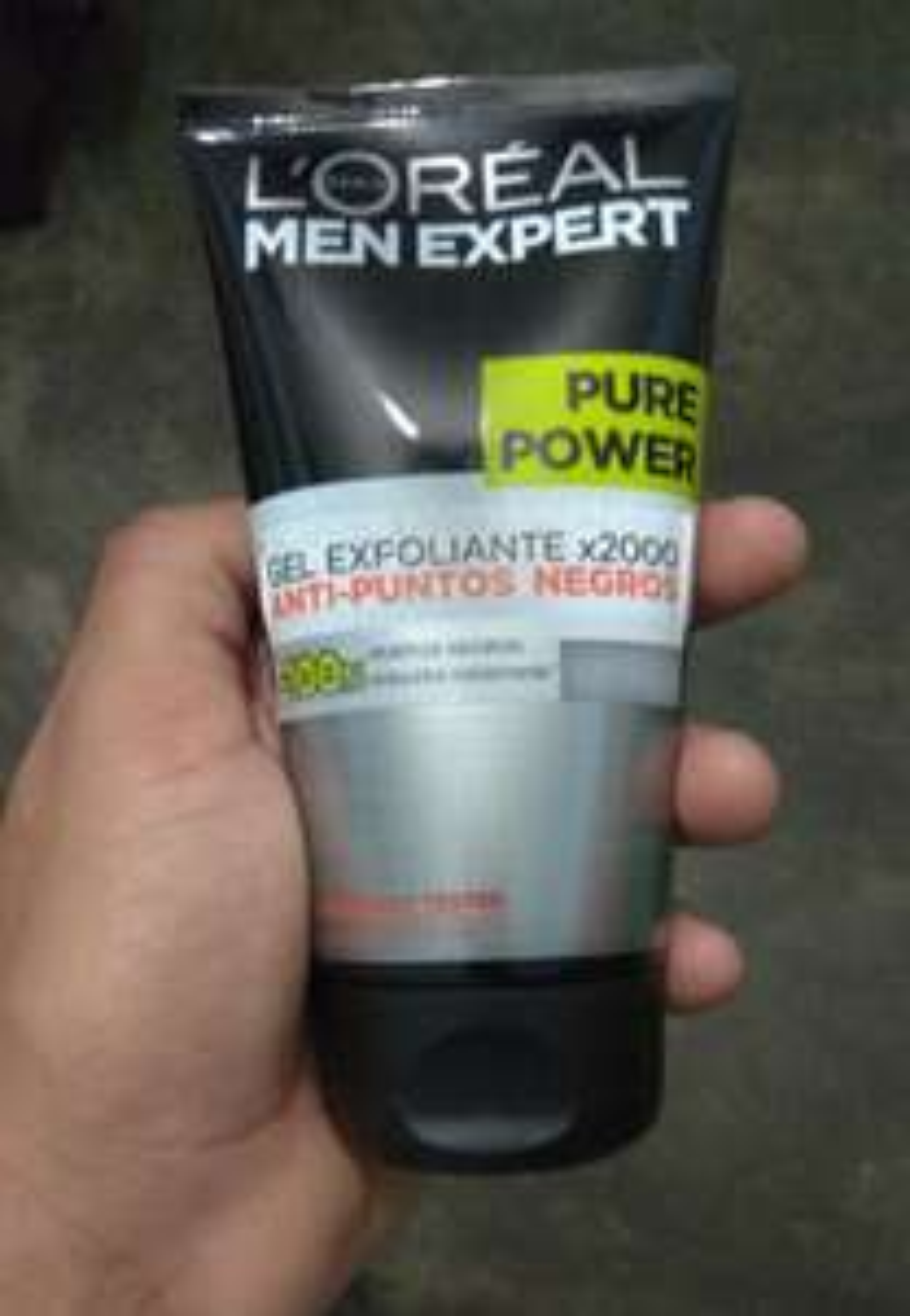 Soriana: Gel Exfoliante Loreal Men X2000