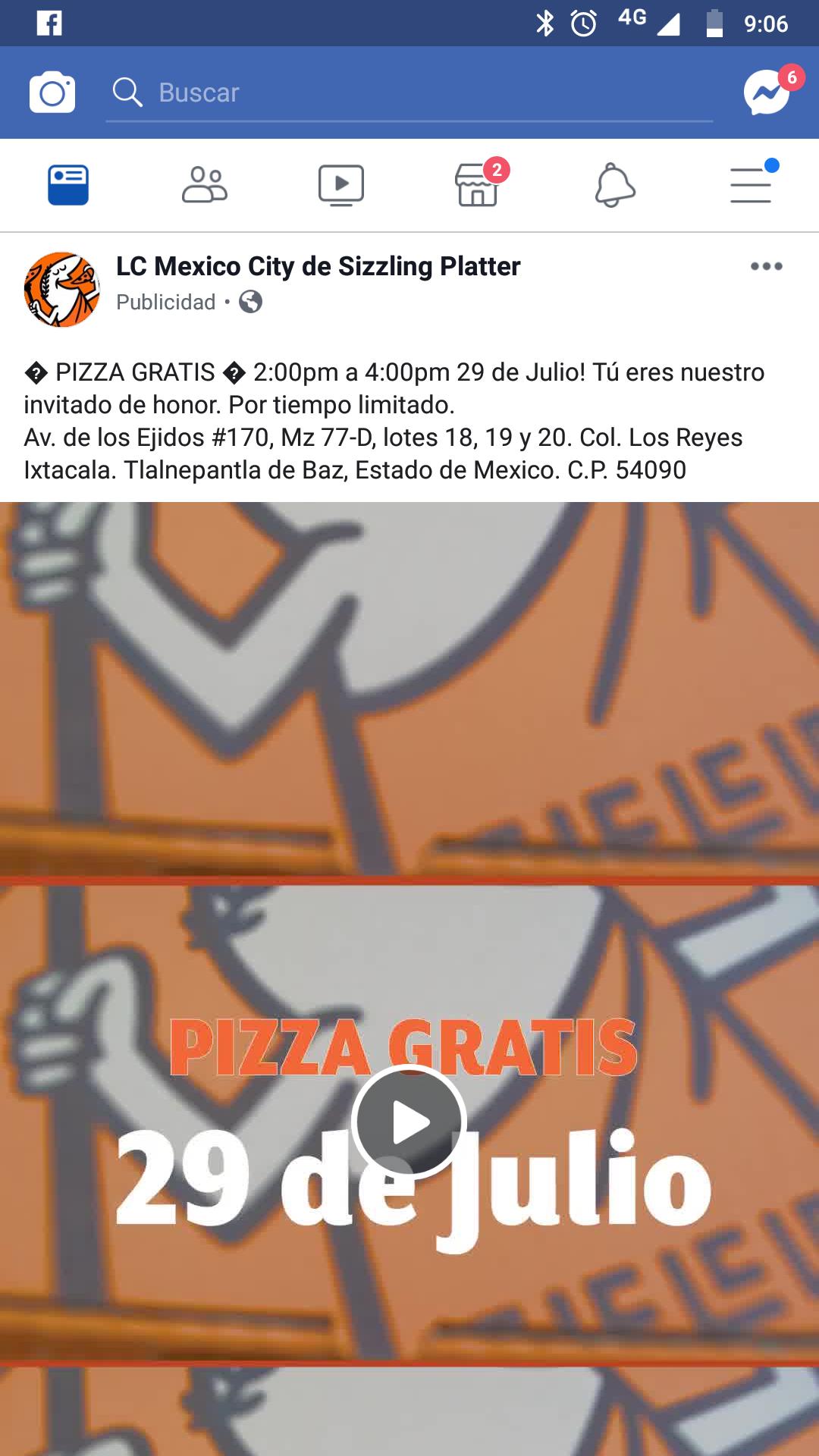 Pizzas Little Caesars en Tlalnepantla México