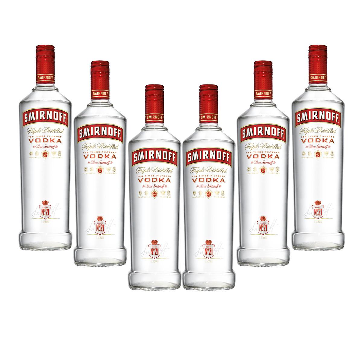 Costco: 6 botellas Smirnoff por 769, precio normal de 1099.