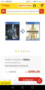 Uncharted Collection + Until Dawn PS4 oferta flash elektra.