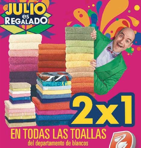 Folleto Julio Regalado en La Comer del 28 de junio al 4 de julio