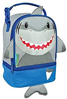 Amazon: Stephen Joseph Shark Lunch Pals Lunch Box, Multicolor