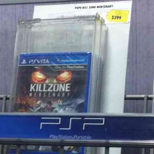 Best Buy: Killzone mercenaries para PSVita a $299